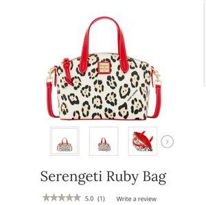NWT Dooney & Bourke Nylon Serengeti Ruby Bag